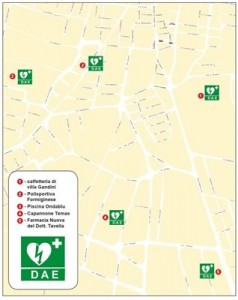 Defribrillatore-Mappa