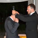 Davide Guidi cede il collare a Corrado Lavini
