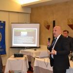 L'intervento di Fabio Piacentini sull'importanza dell'uso dei defibrillatori