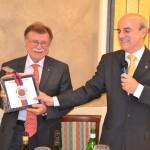 Il presidente Corrado Lavini e il relatore Francesco Melandri