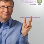 Gates polio