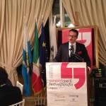 Davide Guidi, presidente del Premio Ghirlandina durante l'interclub del 10 luglio da Vinicio