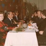 Tavolo di ospiti