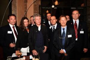 Governatore Del Sante, Baricco, Guidi, Presidenti Rotary Club Ghirlandina