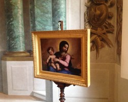 Restauro Madonna col Bambino