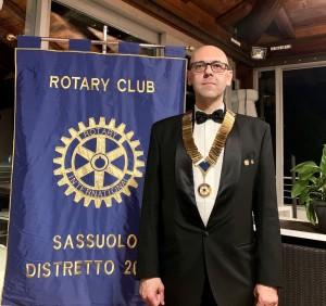 Francesco Mancini presidente Rotary Sassuolo